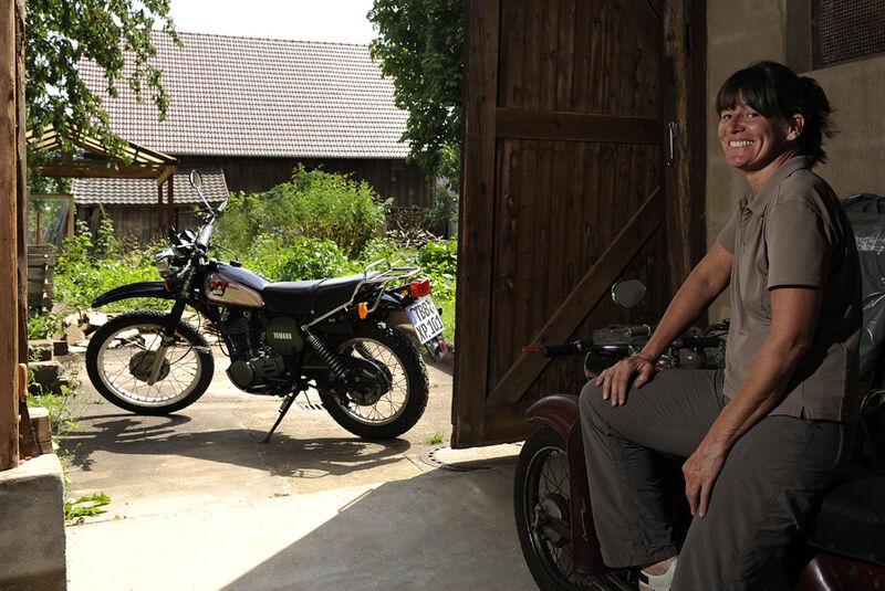 Yamaha XT 500, Seitenansicht, Josie Cardenoso
