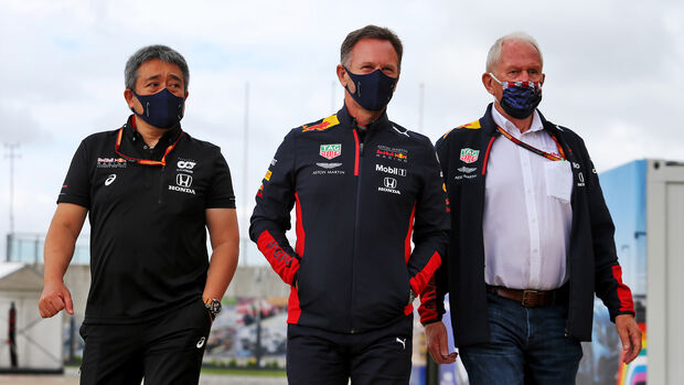 Yamamoto - Honda - Horner - Marko - Red Bull - Formel 1