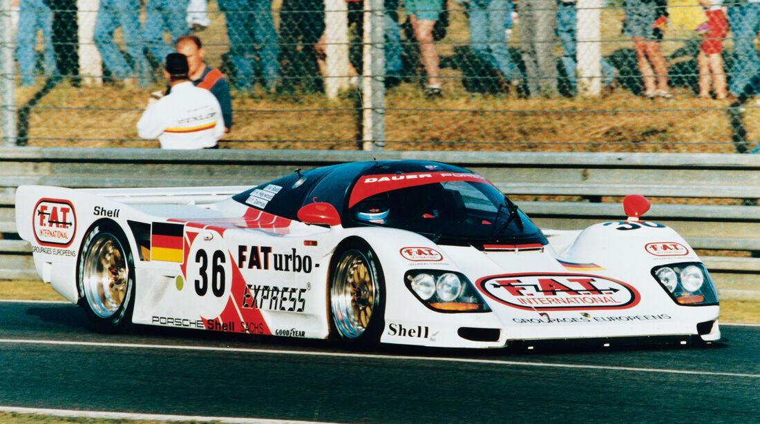 Yannick Dalmas - Le Mans 1994 - Porsche