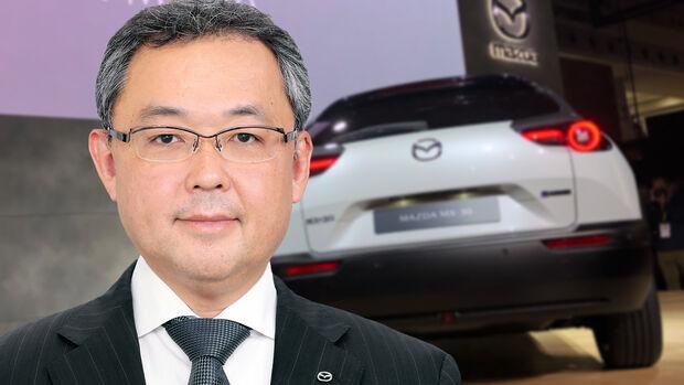 Yasuhiro Aoyama Mazda Präsident Europe