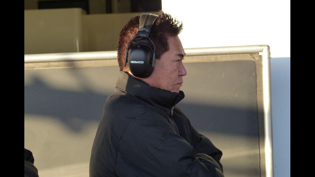 Yasuhisa Arai - Honda - Formel 1-Test - Jerez - 2. Februar 2015