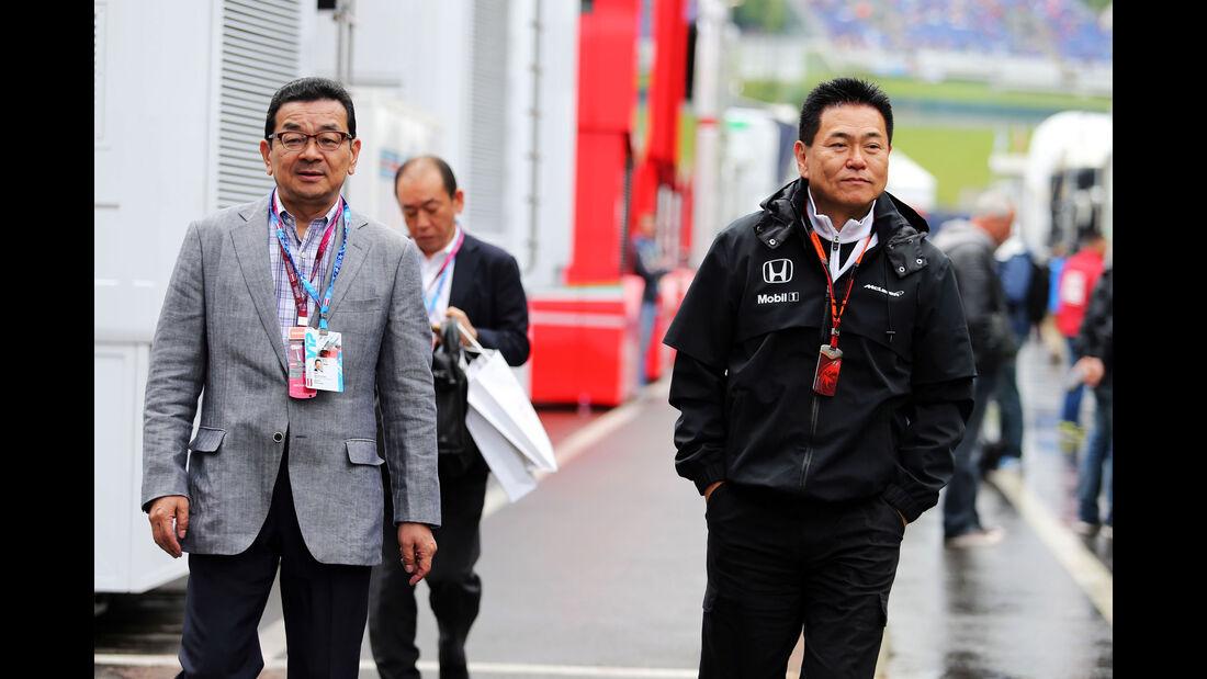 Yasuhisa Arai - Honda - GP Österreich - Qualifiying - Formel 1 - Samstag - 20.6.2015