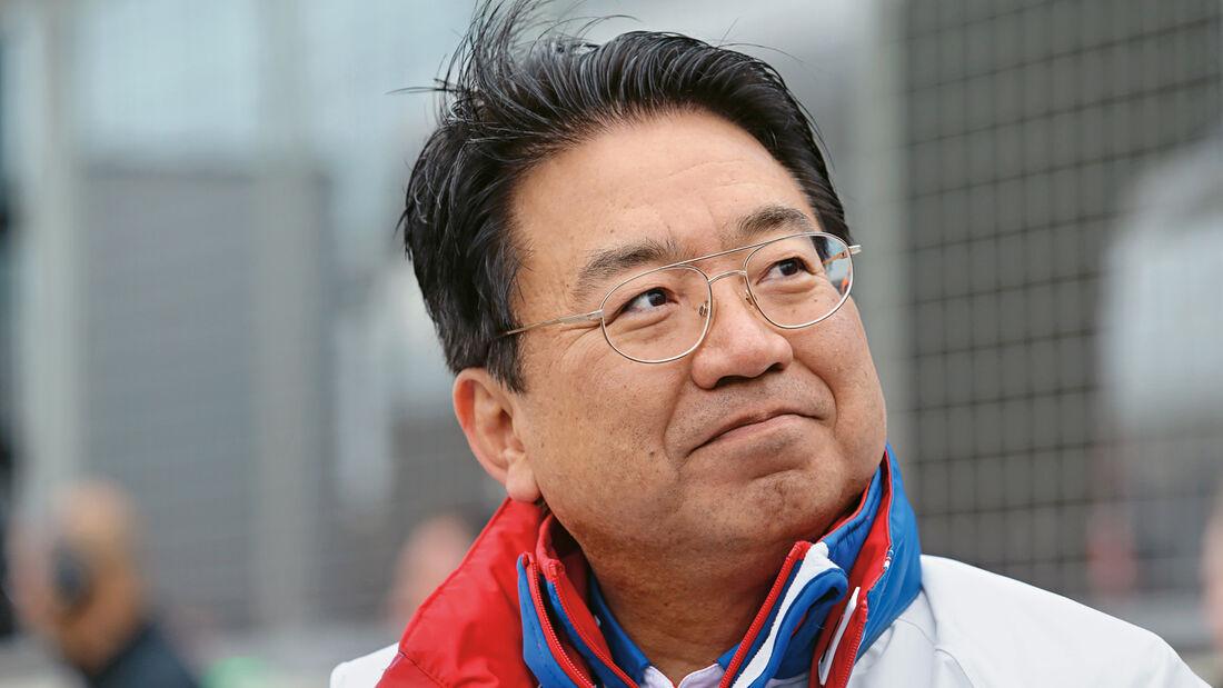 Yoshiaki Kinoshita, Porträt, Toyota-LMP1-Präsident