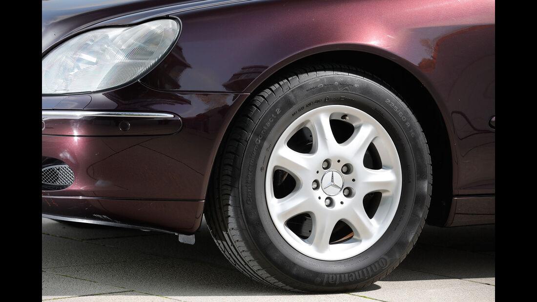 Youngtimer-Fahrbericht-Mercedes-S-500-Felge