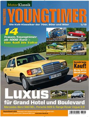 Youngtimer - Hefttitel, Titel  01/2013