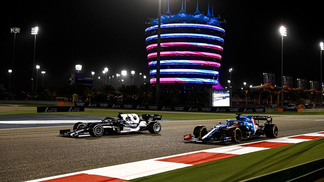 Yuki Tsunoda - Alpha Tauri - Formel 1 - GP Bahrain 2021 - Rennen