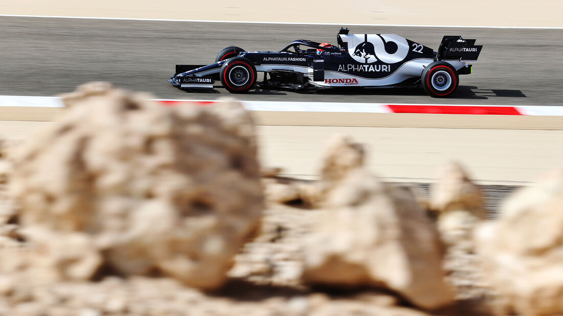 Yuki Tsunoda - Alpha Tauri - Formel 1 - GP Bahrain - Freitag - 26.3.2021