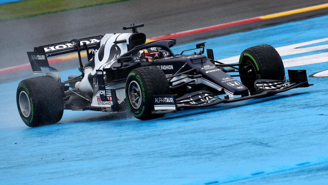 Yuki Tsunoda - Alpha Tauri - Formel 1 - GP Belgien - 28. August 2021