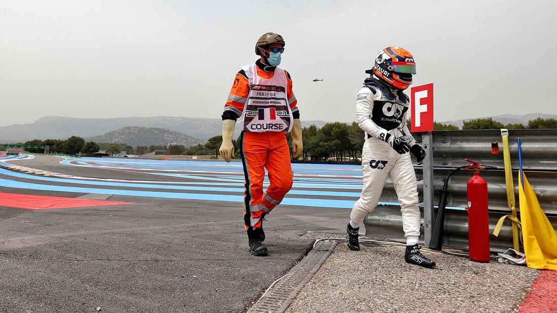 Yuki Tsunoda - Alpha Tauri - Formel 1 - GP Frankreich - Le Castellet - 19. Juni 2021