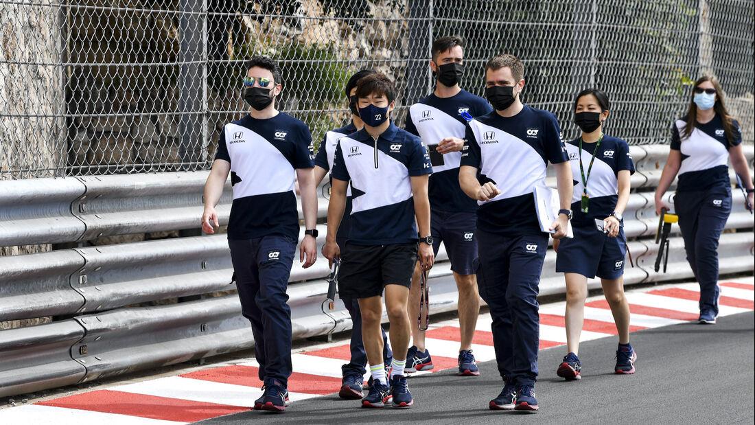 Yuki Tsunoda - Alpha Tauri - Formel 1 - GP Monaco - 19. Mai 2021