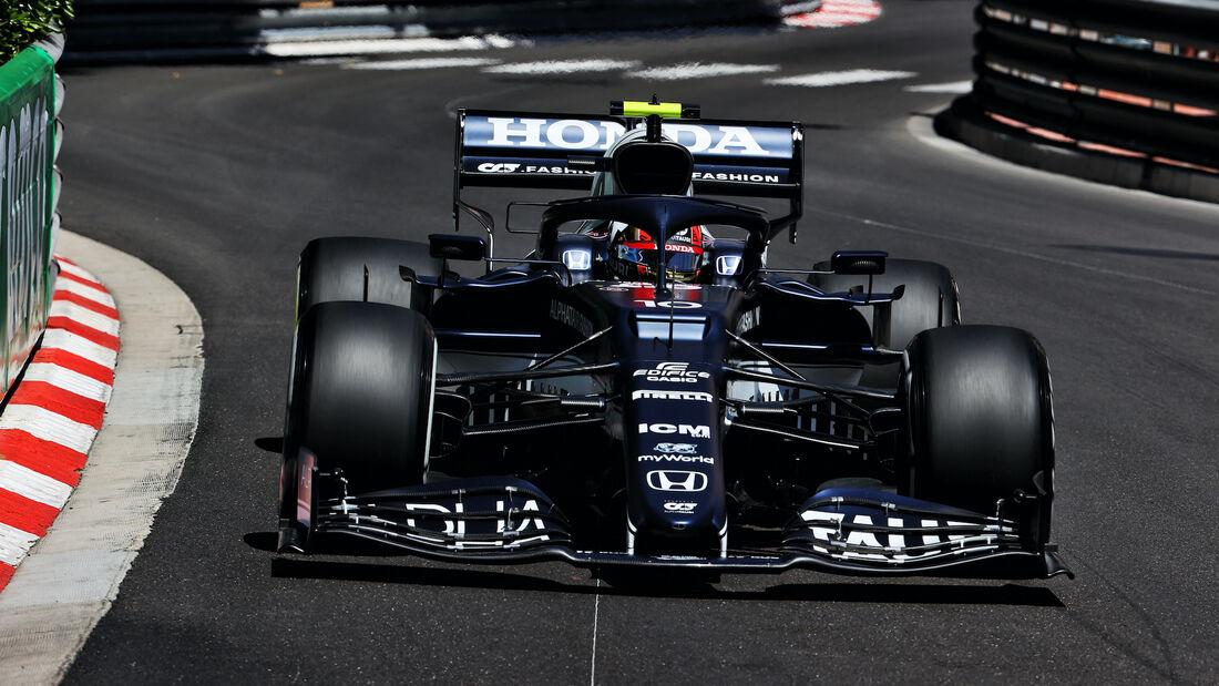 Yuki Tsunoda - Alpha Tauri - Formel 1 - GP Monaco - 20. Mai 2021