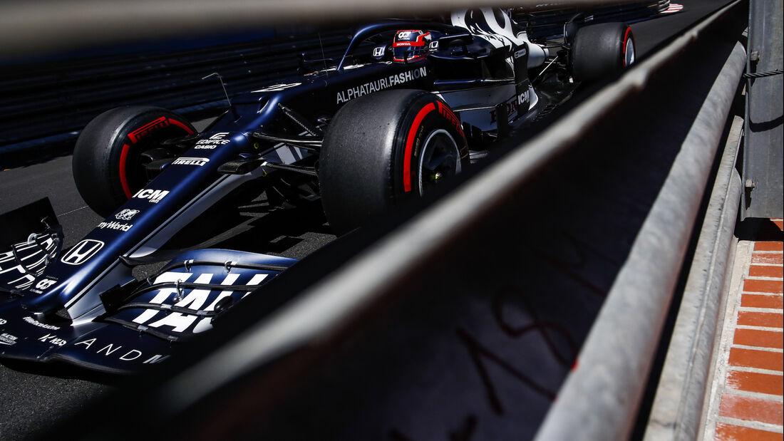 Yuki Tsunoda - Alpha Tauri - Formel 1 - GP Monaco 2021