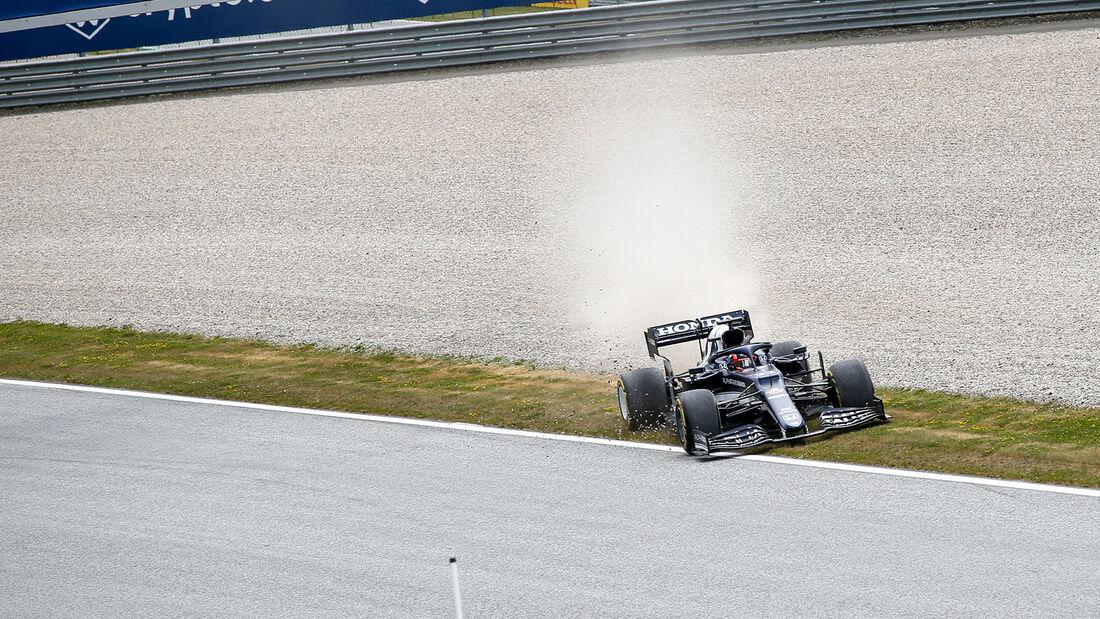 Yuki Tsunoda - Alpha Tauri - Formel 1 - GP Österreich - Spielberg - Freitag - 2.7.2021