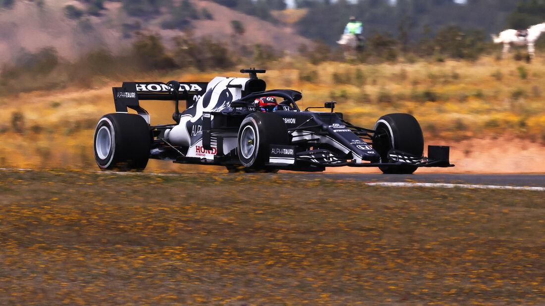 Yuki Tsunoda - Alpha Tauri - Formel 1 - GP Portugal - Portimao - 30. April 2021
