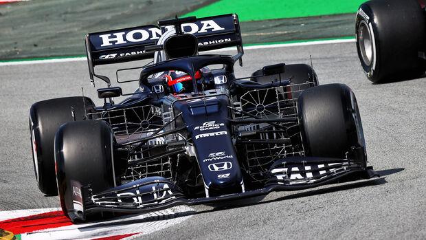 Yuki Tsunoda - Alpha Tauri - Formel 1 - GP Spanien - 7. Mai 2020