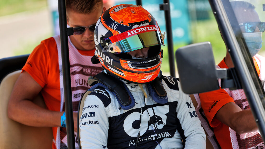 Yuki Tsunoda - Alpha Tauri - Formel 1 - GP Ungarn - Budapest - Freitag - 30. Juli 2021