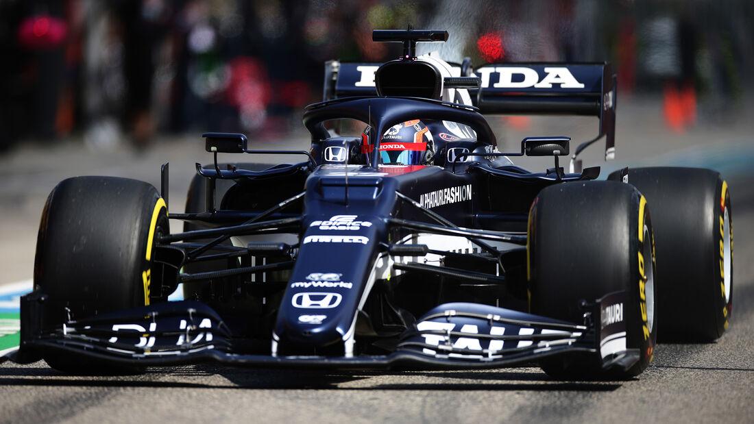 Yuki Tsunoda - Alpha Tauri - Formel 1 - Imola - GP Emilia Romagna - 16. April 2021
