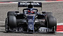 Yuki Tsunoda - Alpha Tauri - Formel 1 - Test - Bahrain - 13. März 2021