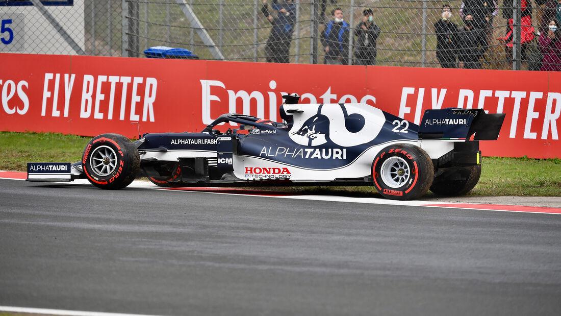 Yuki Tsunoda - Alpha Tauri - GP Türkei - Istanbul - Formel 1 - 9. Oktober 2021