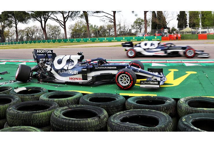 F1-Fotos-Imola-2021-Qualifikation-Rookie-in-der-Mauer