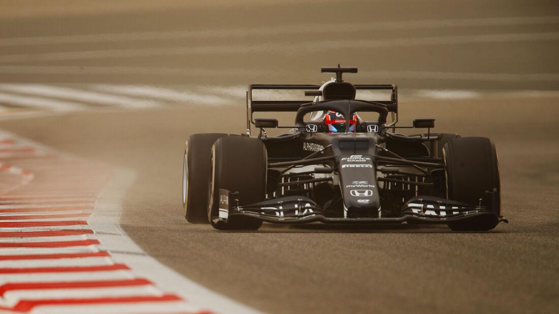 Yuki Tsunoda - Alpha Tauri - Test - Formel 1 - Bahrain - 12. März 2021
