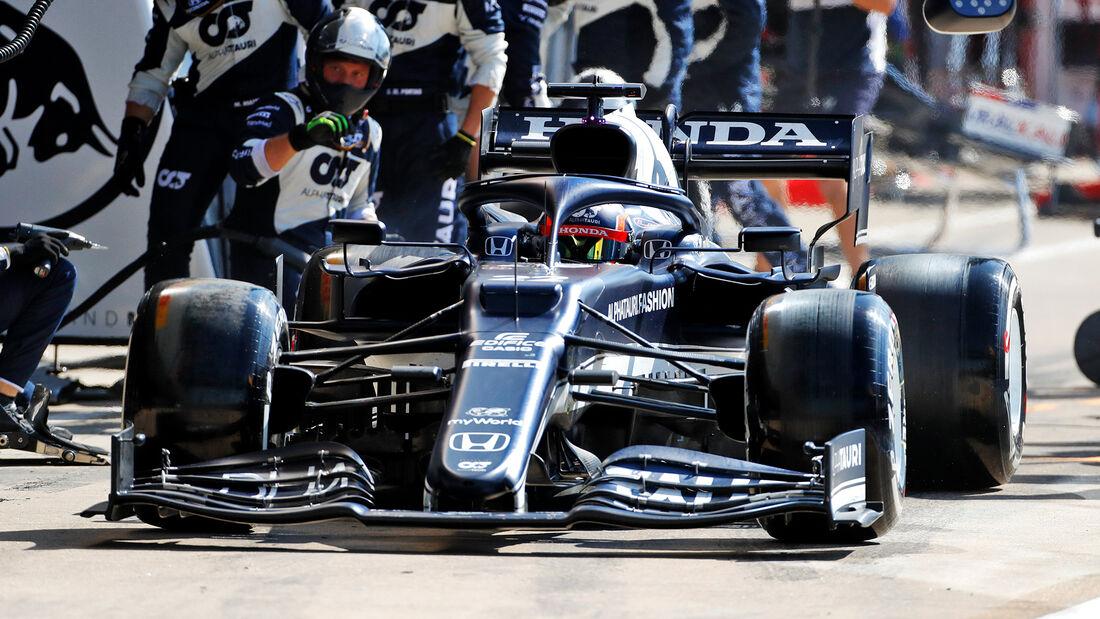 Yuki Tsunoda - Formel 1 - GP England 2021