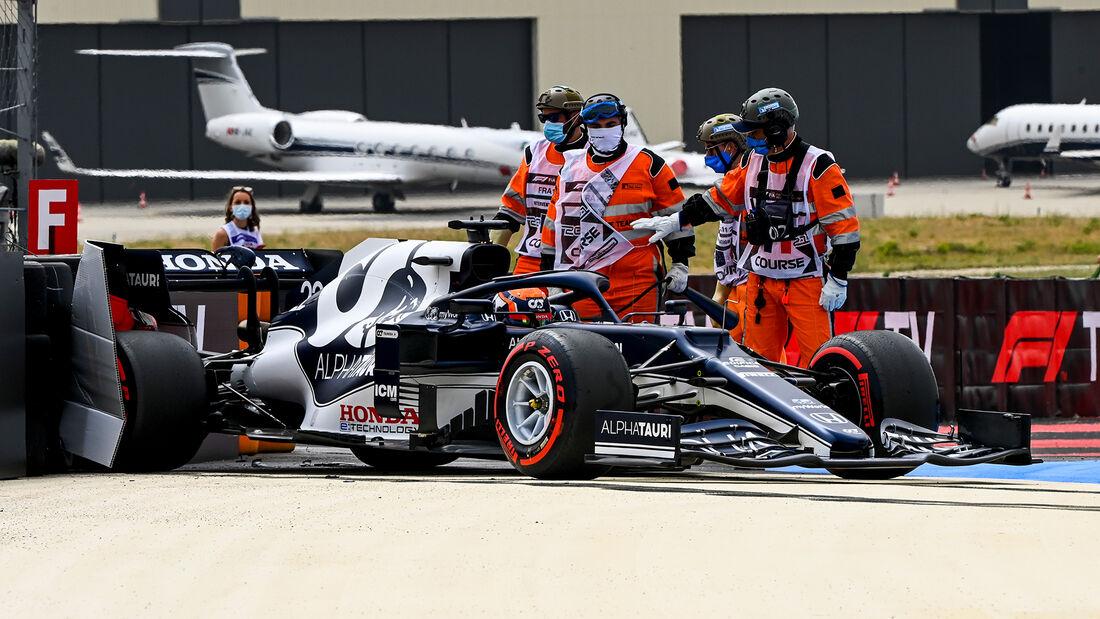 Yuki Tsunoda - Formel 1 - GP Frankreich 2021