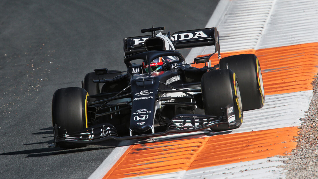 Yuki Tsunoda - Formel 1 - GP Niederlande - Zandvoort - 2021