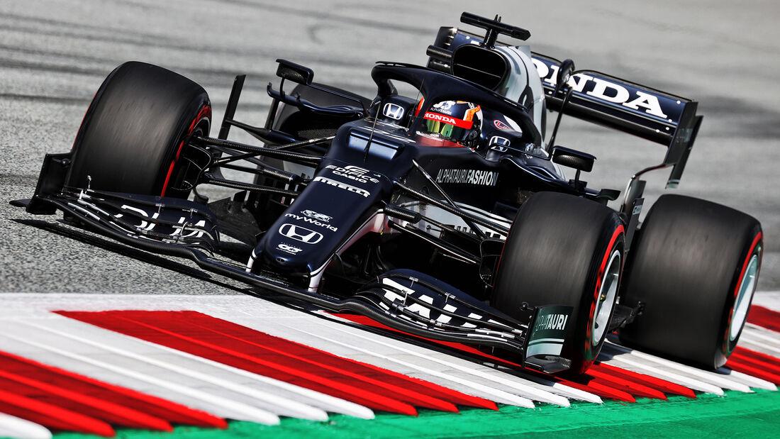Yuki Tsunoda - Formel 1 - GP Österreich 2021