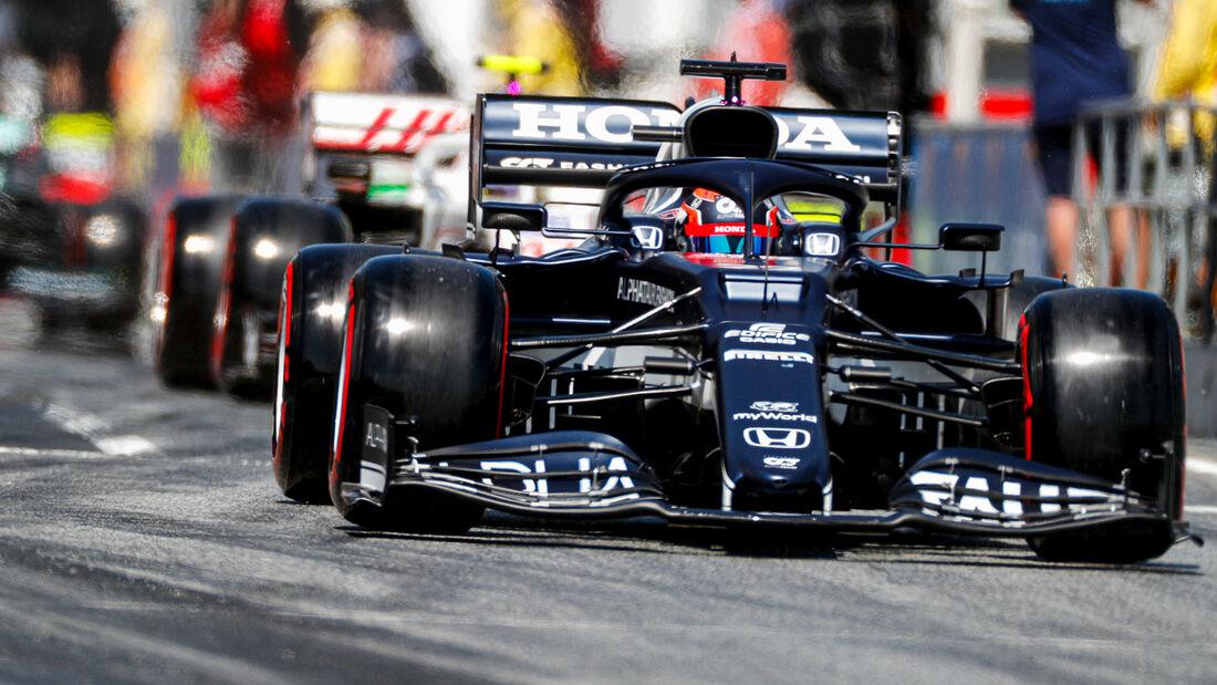 Yuki Tsunoda - Formel 1 - GP Spanien 2021