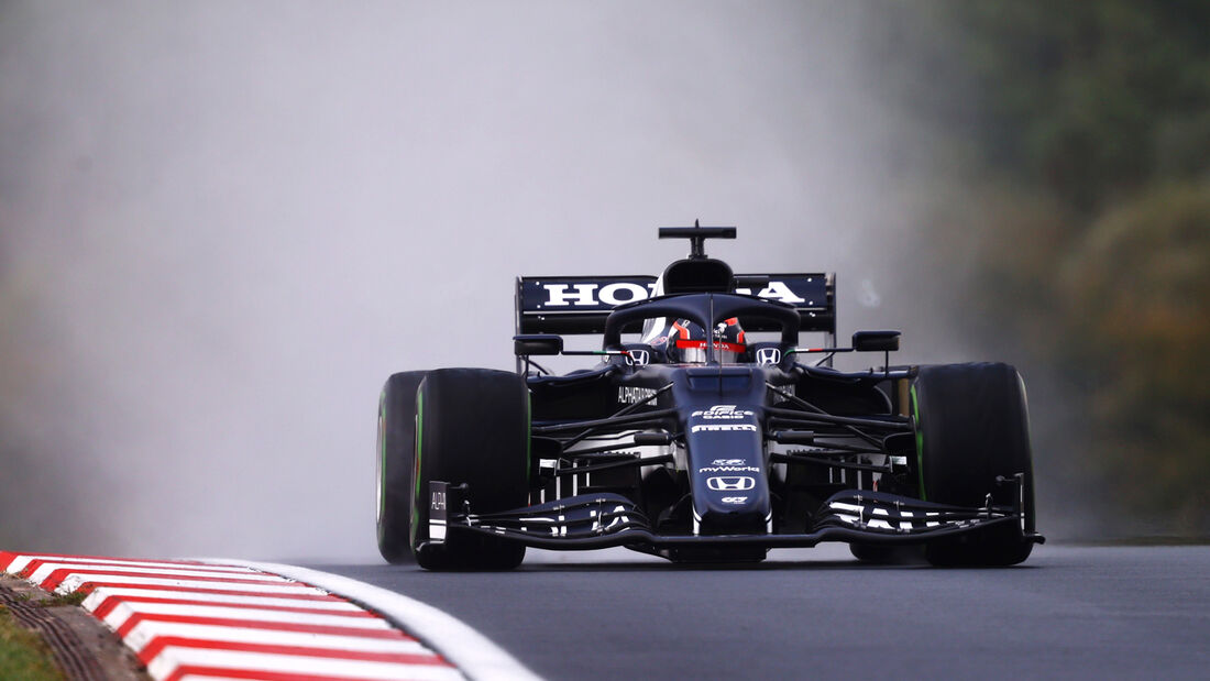 Yuki Tsunoda - Formel 1 - GP Türkei - Istanbul - 2021