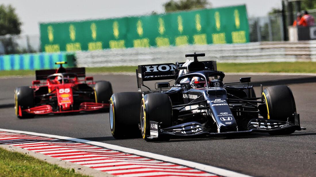 Yuki Tsunoda - Formel 1 - GP Ungarn - 2021