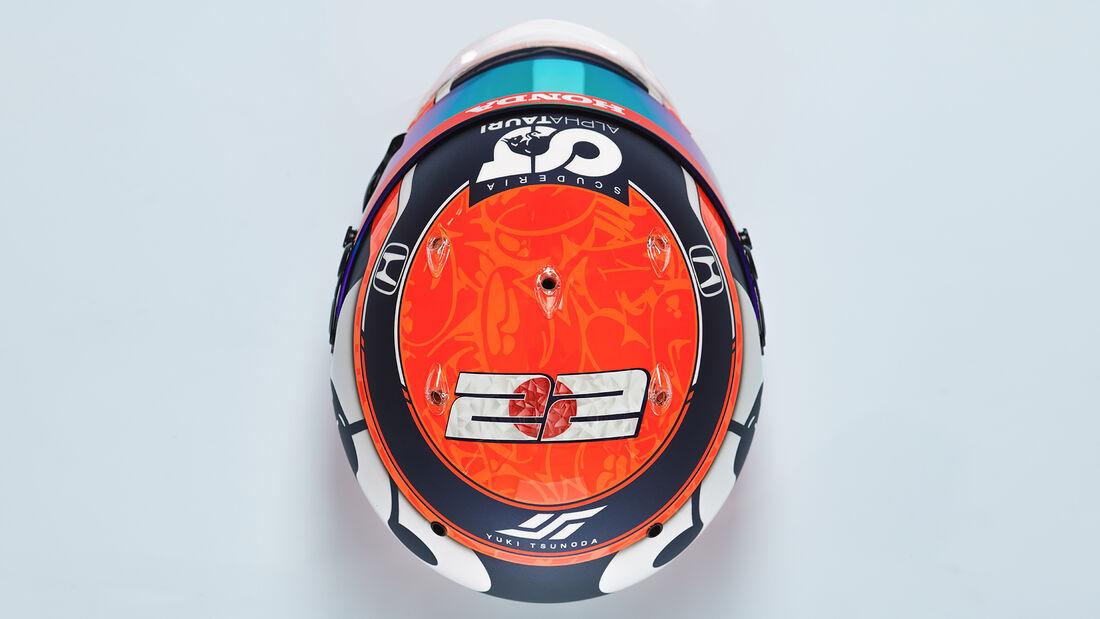 Yuki Tsunoda - Formel 1 - Helm - 2021