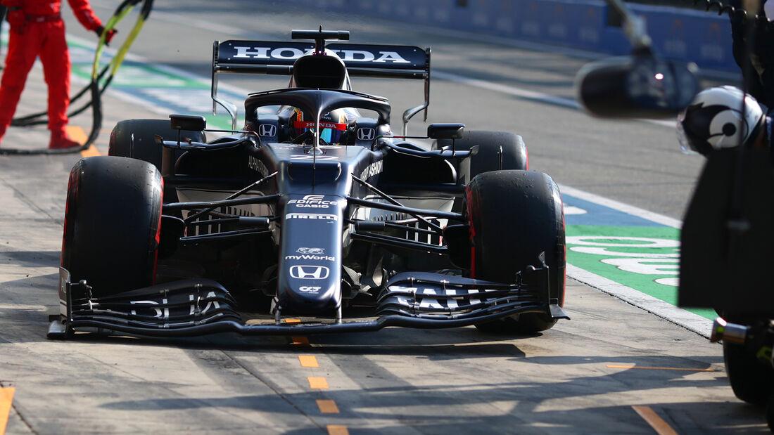 Yuki Tsunoda - Formel 1 - Monza - GP Italien 2021