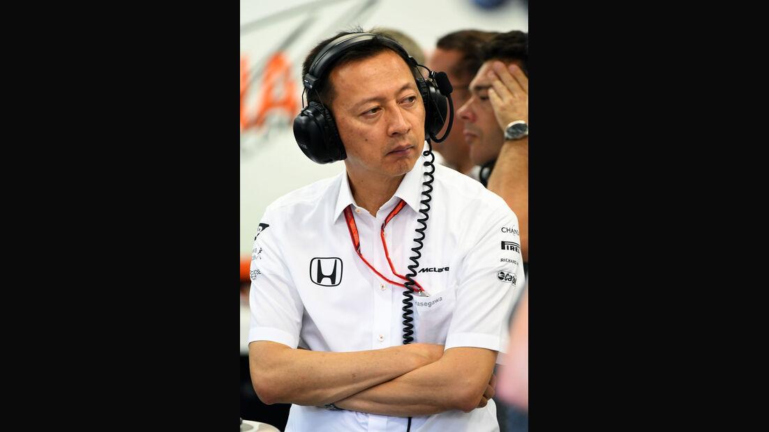 Yusuke Hasegawa - Honda - GP Singapur - Formel 1 - Freitag - 15.9.2017