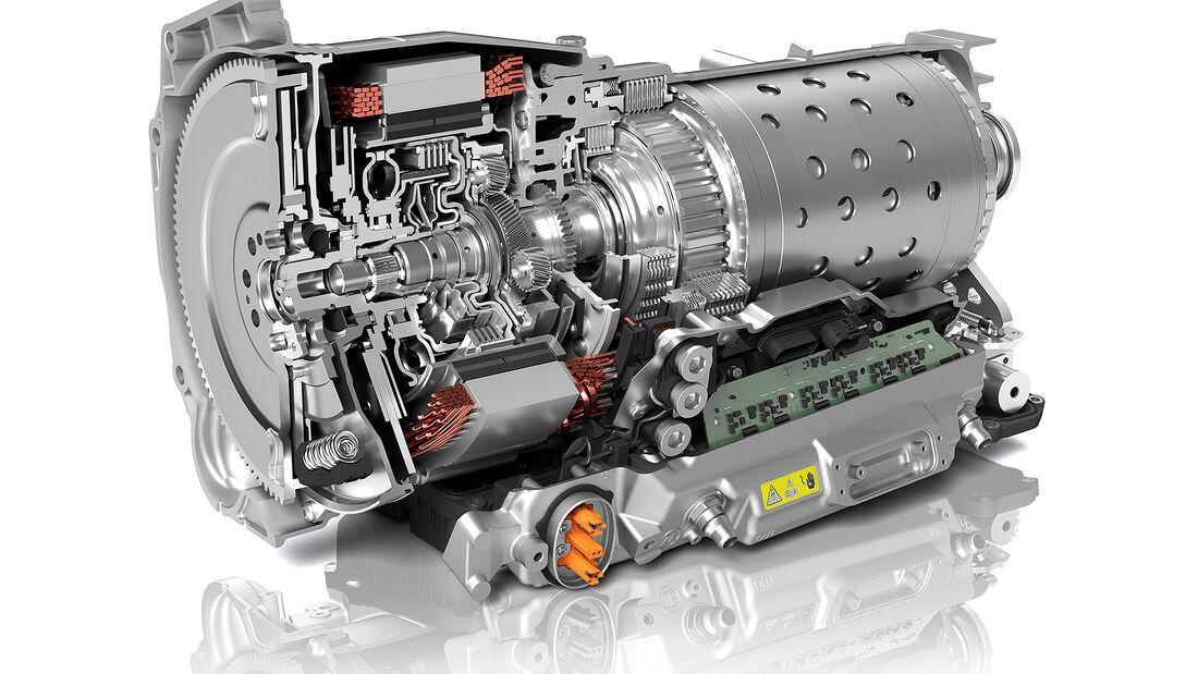 ZF 8-Gang-Automatik für Hybridantriebe (2022)