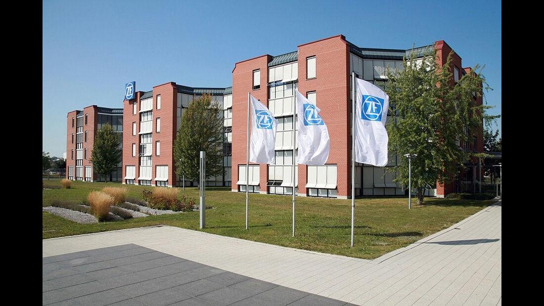 ZF-Archiv, Firmenzentrale ZF Friedrichshafen