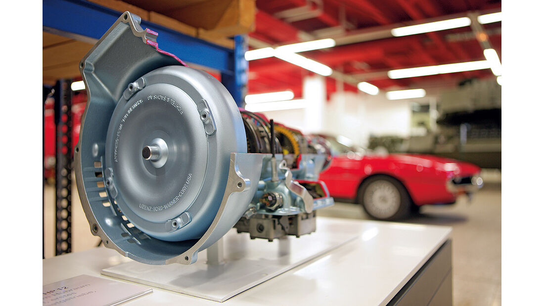 ZF-Archiv, Getriebe, Alfa Romeo Montreal