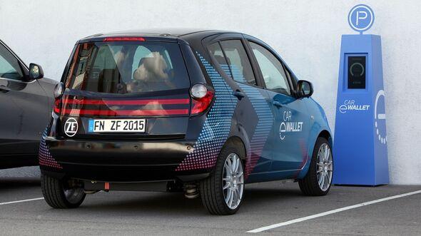 ZF Car eWallet Simplifies Usage of Autonomous Vehicles