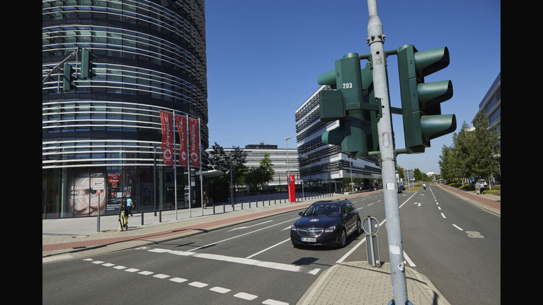 ZF Vodafone Ampel-System