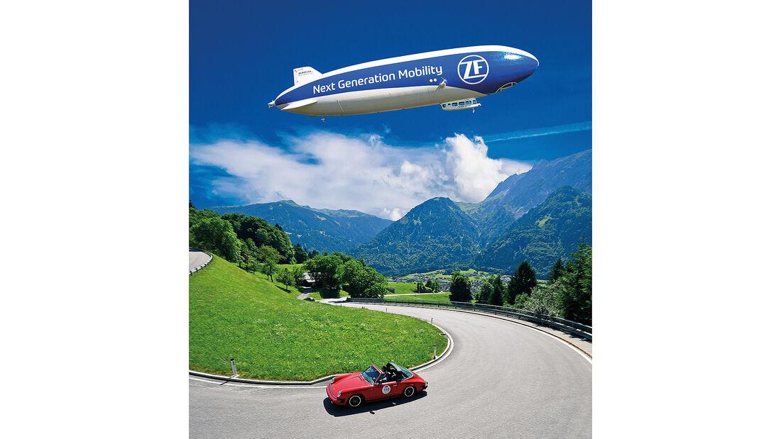 ZF Zeppelin, Gewinnspiel, Silvretta Classic
