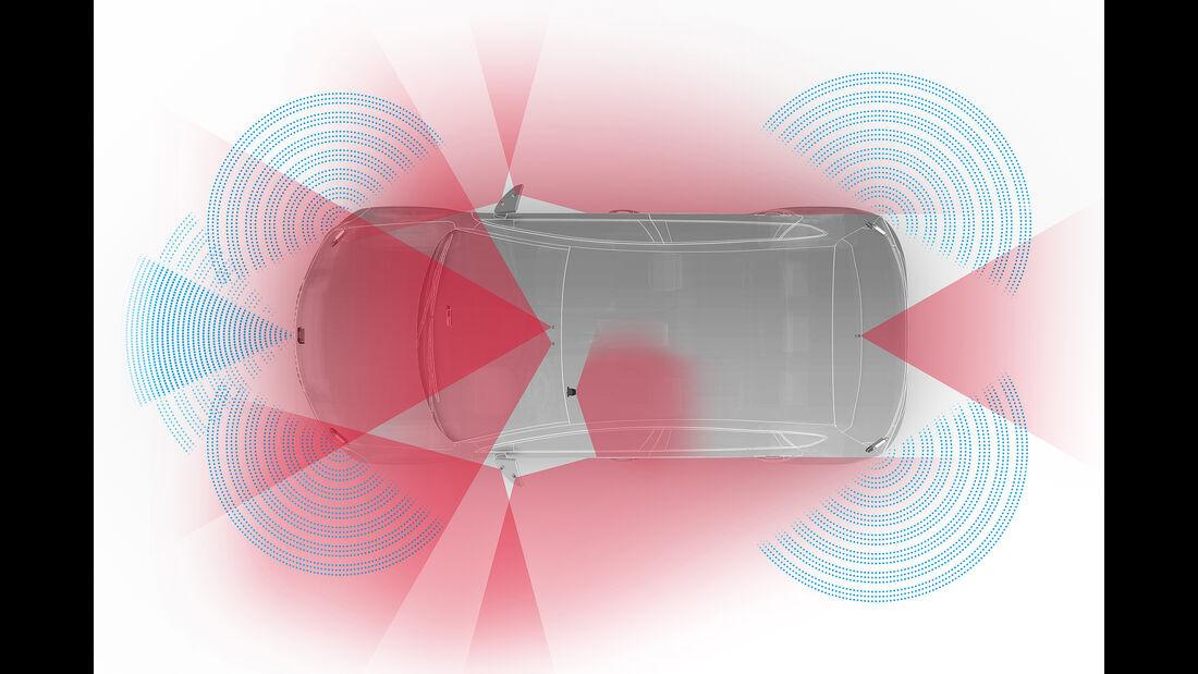 ZF: teilautonomes Fahren