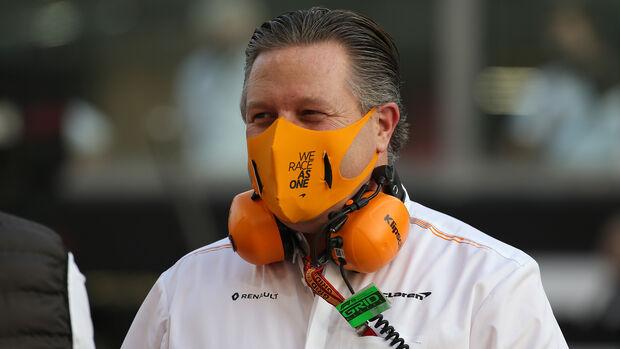 Zak Brown - McLaren - F1