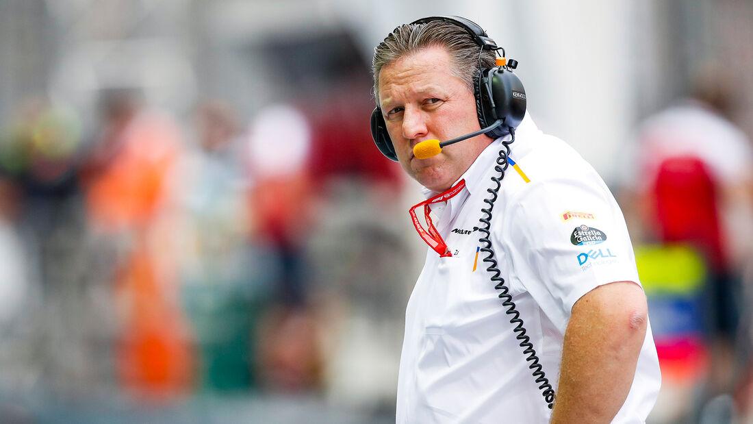 Zak Brown - McLaren - F1 - Formel 1