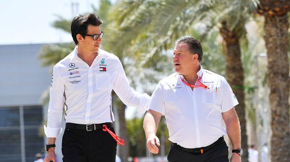 Zak Brown & Toto Wolff - McLaren - Formel 1 - 2019