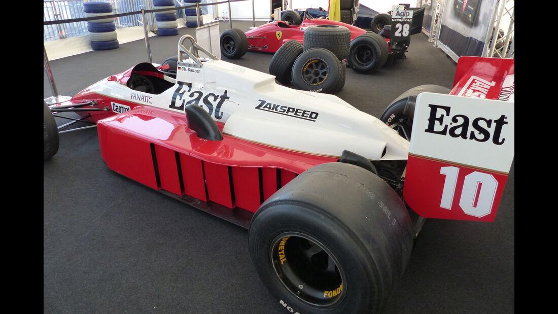 Zakspeed 871 - Legends Parade - GP Österreich 2015