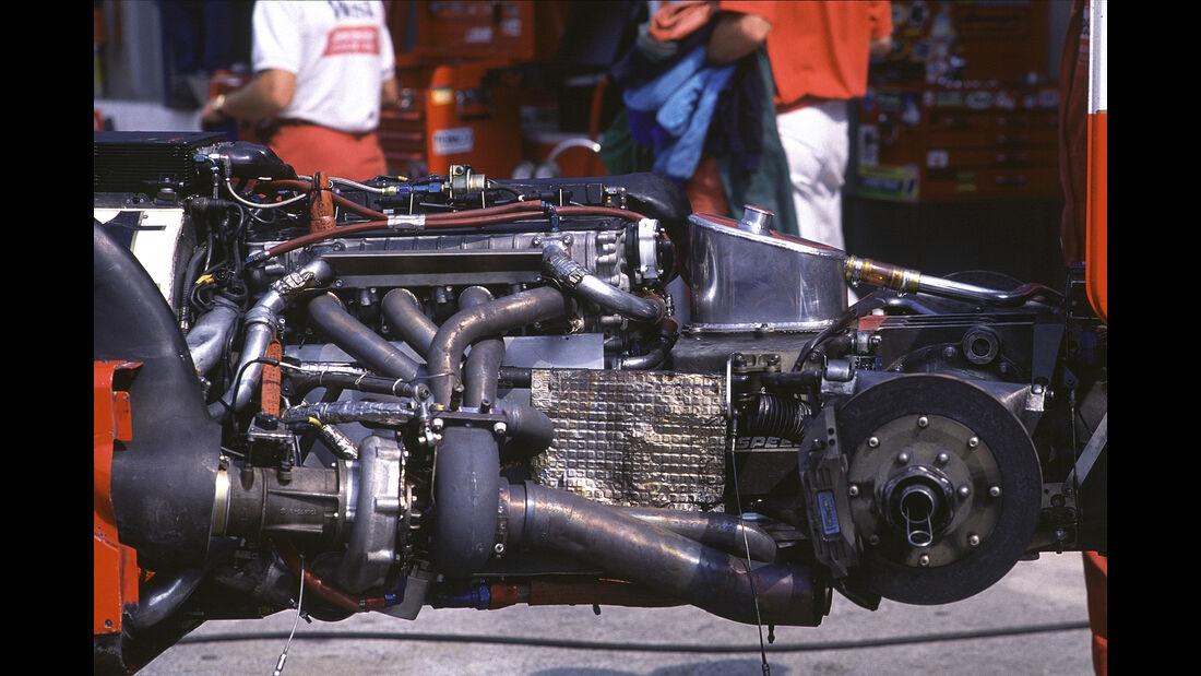 Zakspeed 881 Turbo - F1-Motor - 1988