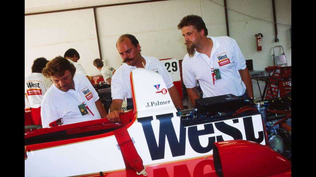 Zakspeed - Formel 1 - GP Ungarn 1986