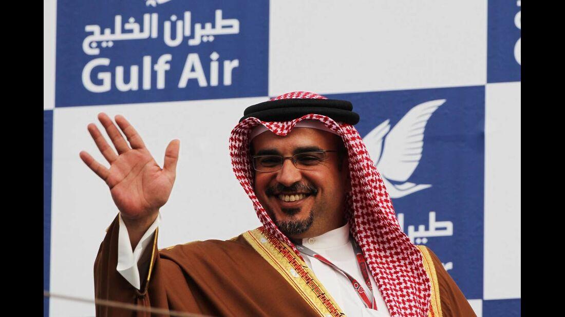 Zayed Rashed Al Zayani  - Formel 1 - GP Bahrain - 22. April 2012