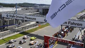 Ziel Nürburgring 24h-Rennen 2011